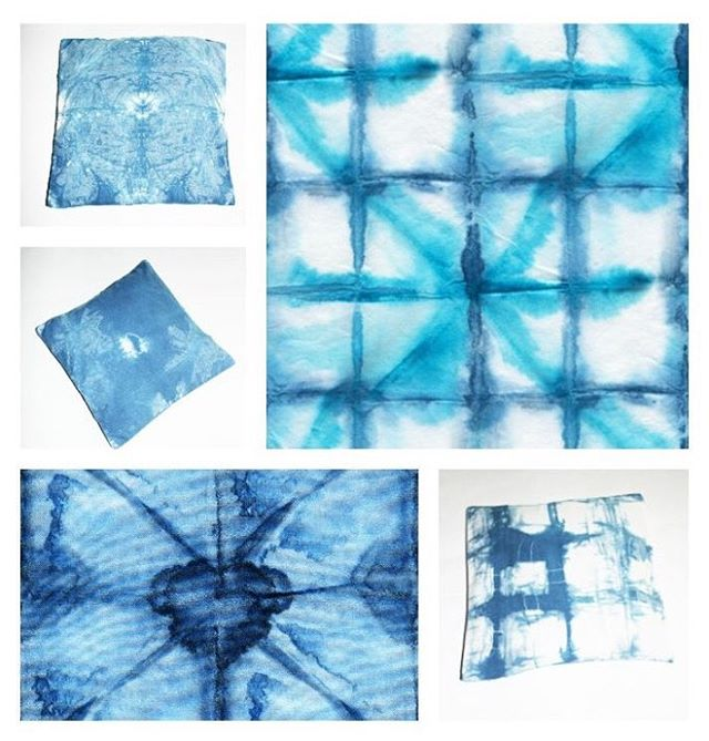 Create your own hand dyed Shibori pillow cover! Visit myhellip