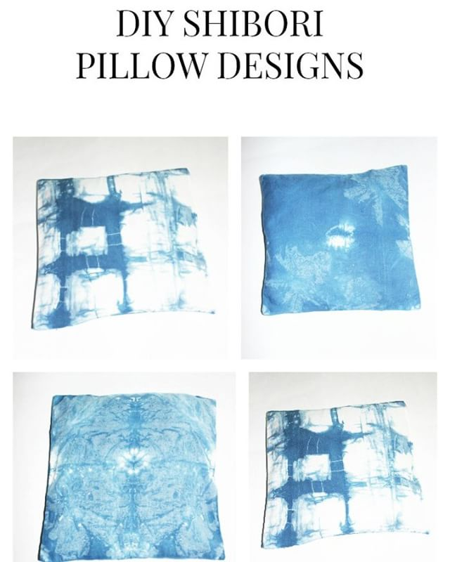 Create your own pillows with Tiedye Shibori Designs see posthellip