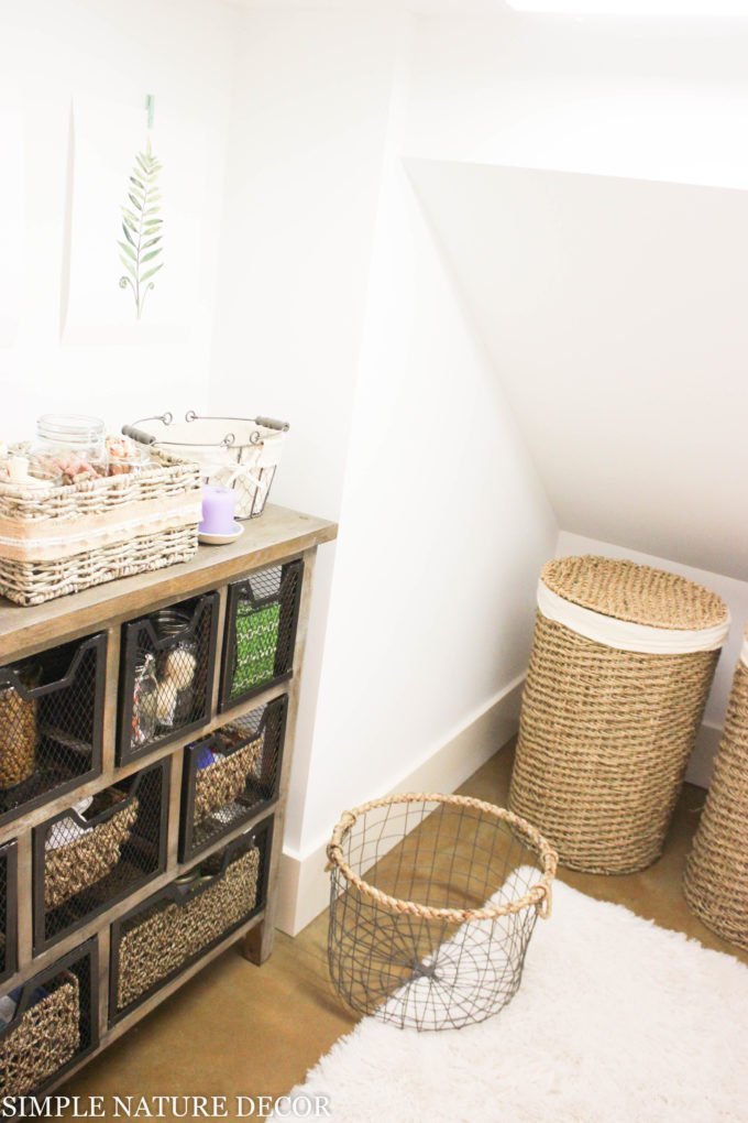HOW TO DRESS UP BASKETS: Storage Reveal