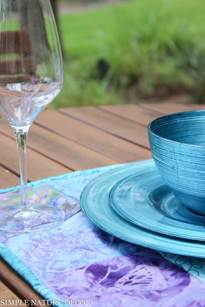 How To Make Easy Colorful Quilted Fabric Placemats