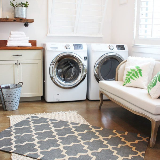 I really enjoy my Botanical Laundry Room I can readhellip