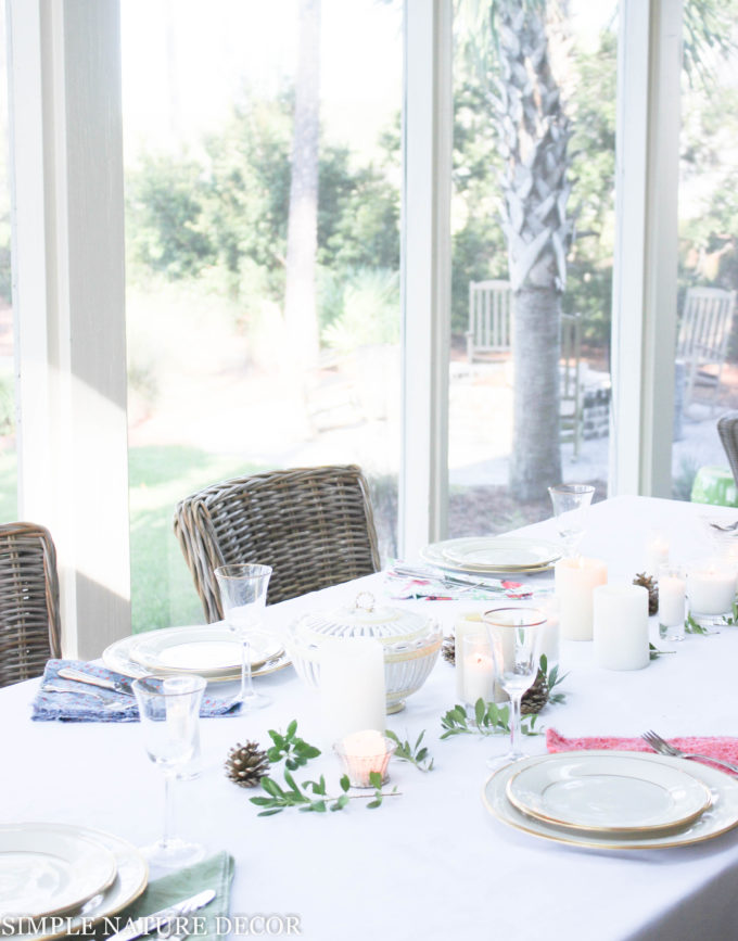Bringing The Outdoors In for a Fall Tablescape