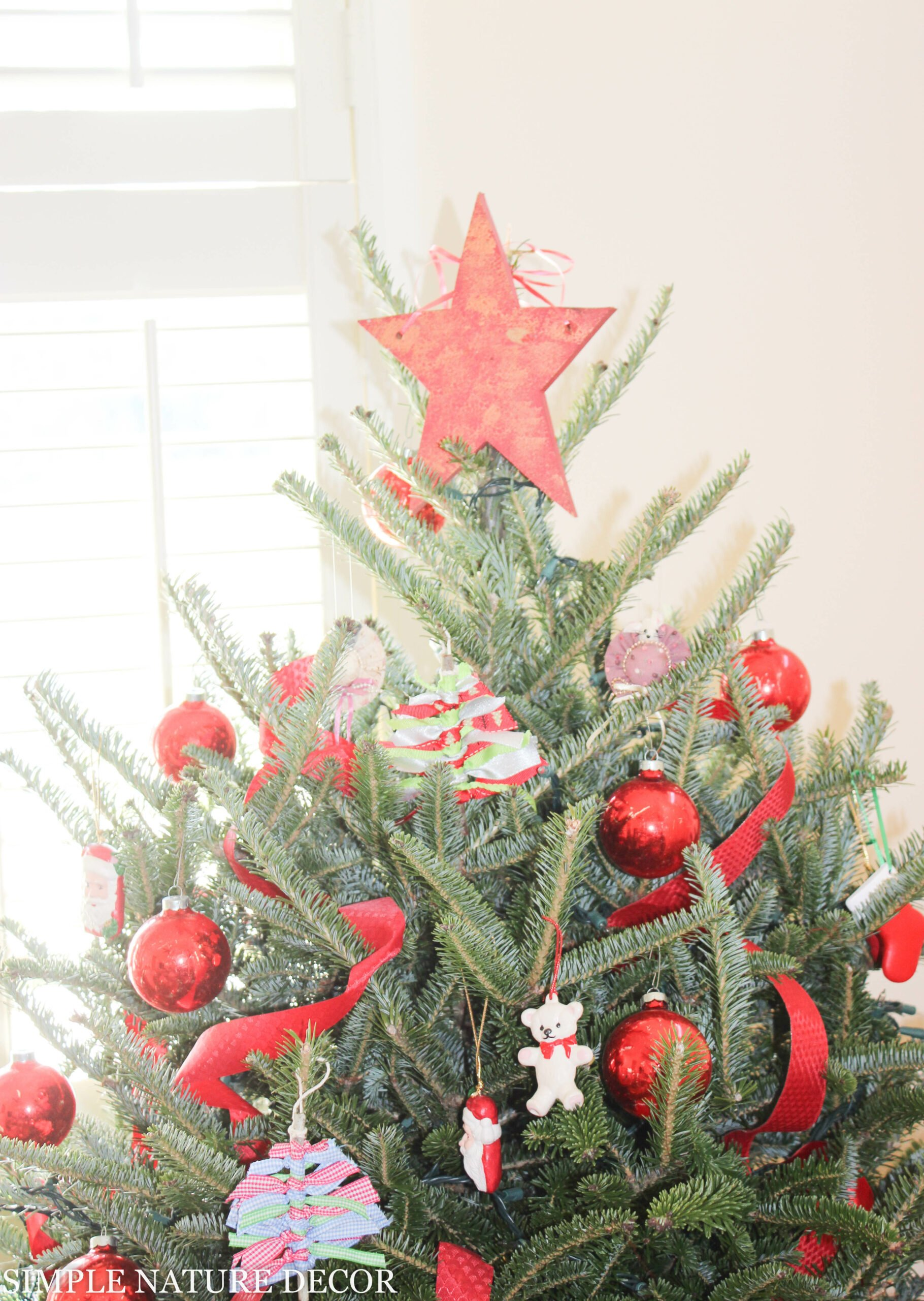 My Little Crafty Christmas Tree