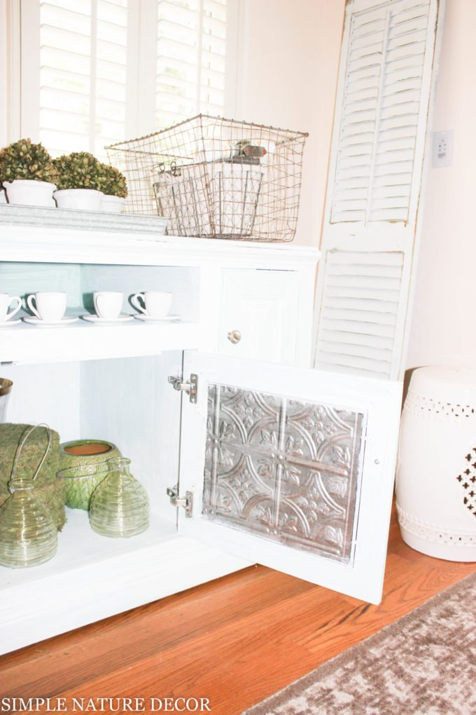 Transform a TV Stand Into a Buffet Cabinet in 5 Easy Steps