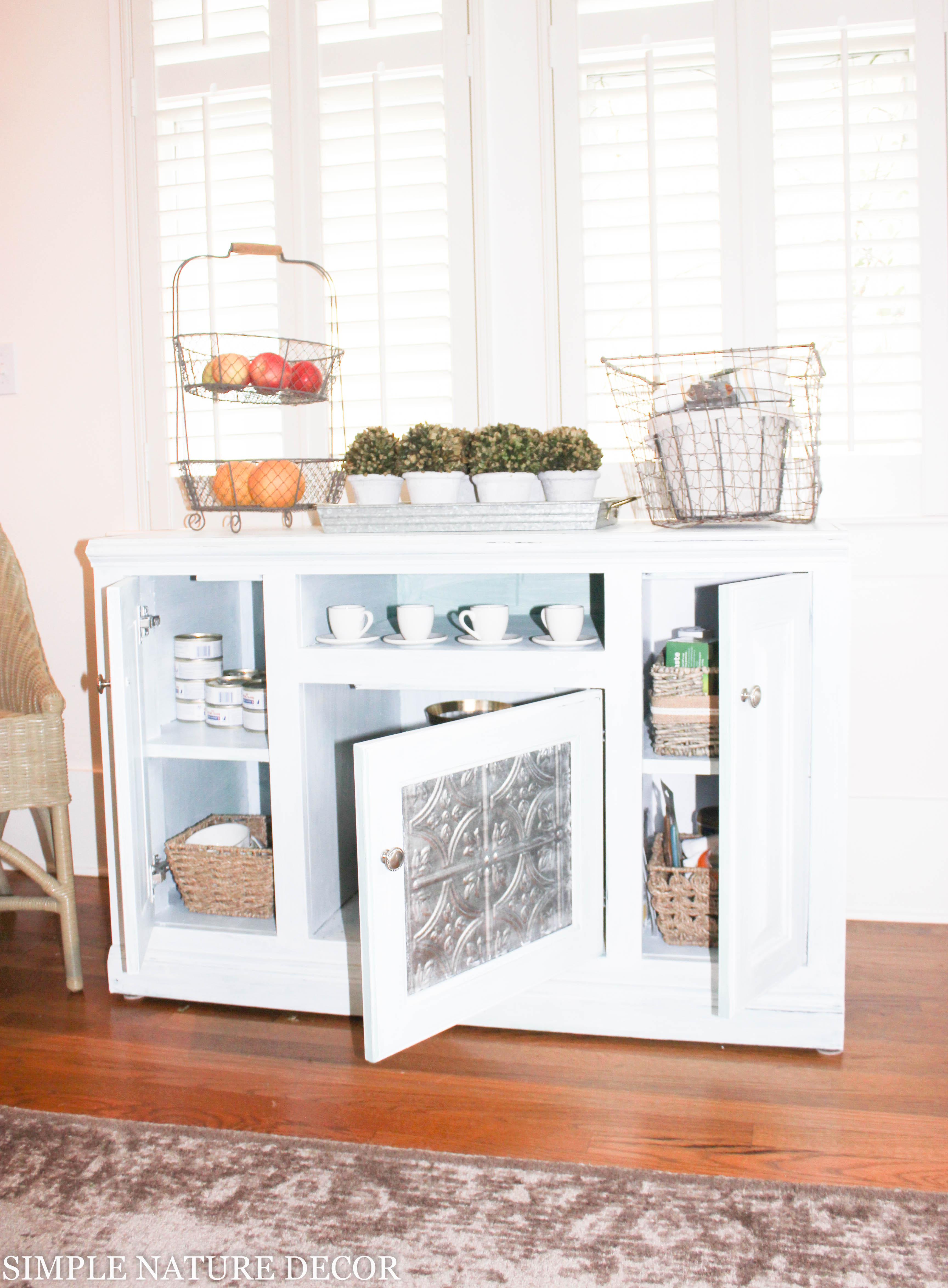 simple nature decor diy buffet cabinet ideas diy rustic buffet cabinet