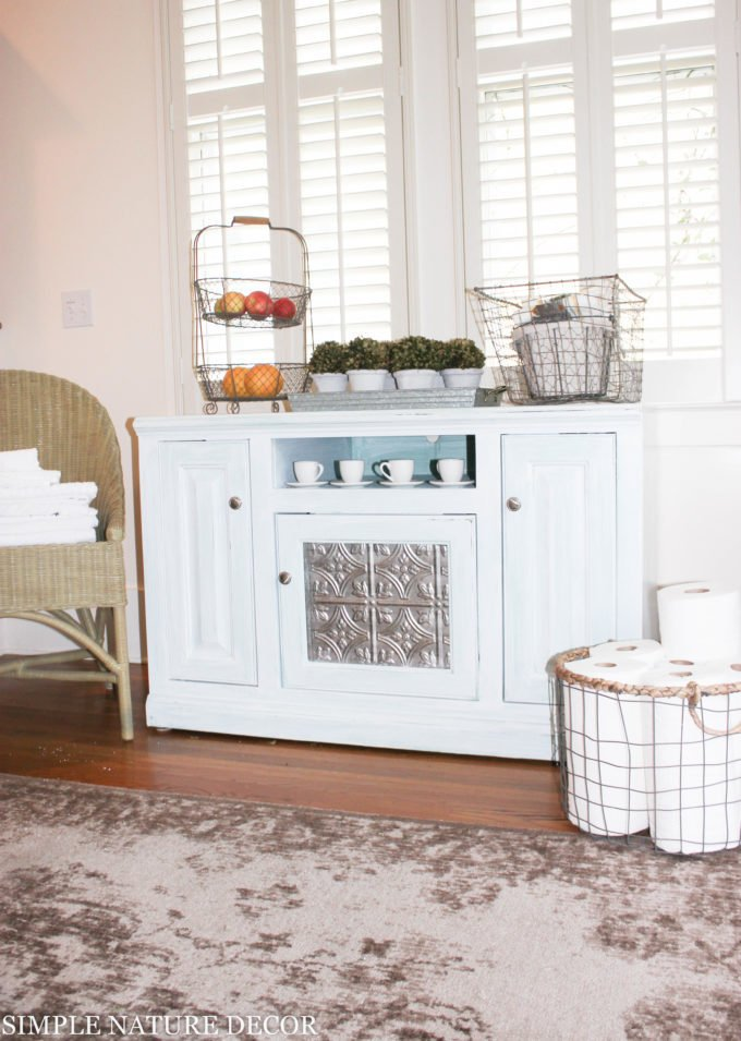 Storage Solutions:DIY BUFFET CABINET