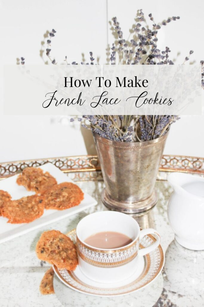 french cookies and tea: How To Make Perfect French Lace Cookies