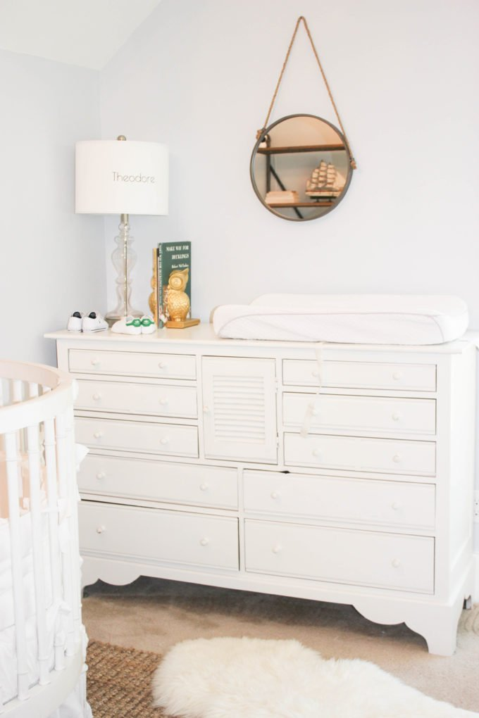Transform Dresser Into Stylish Changing Table: