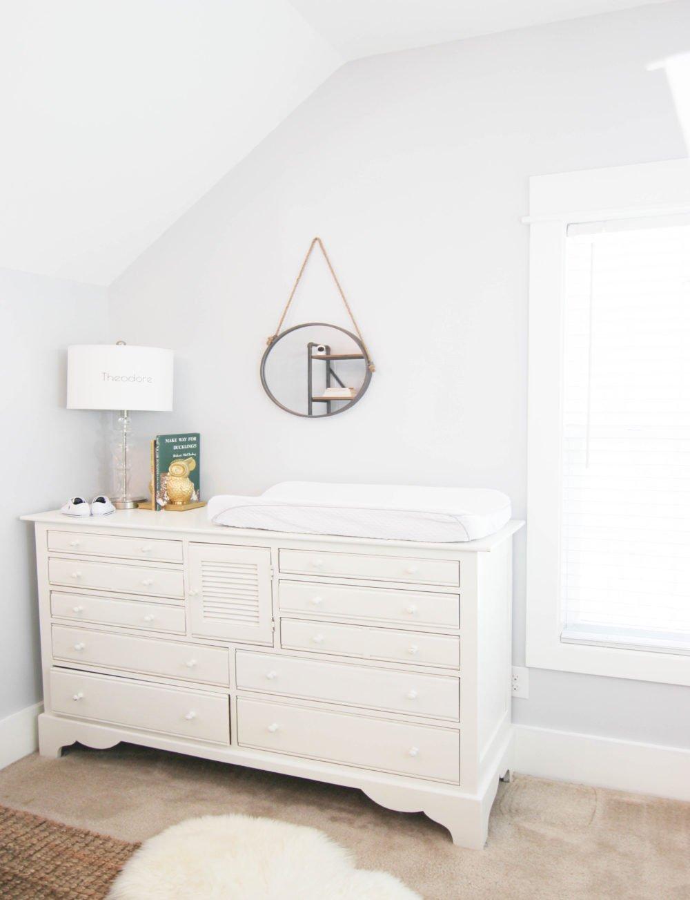 Transform Dresser Into Stylish Changing Table