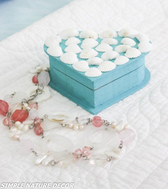 How To Make A Seashell Heart Shaped Trinket Box