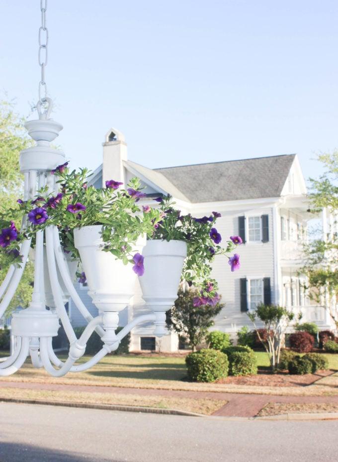 How To Create a Garden Chandelier