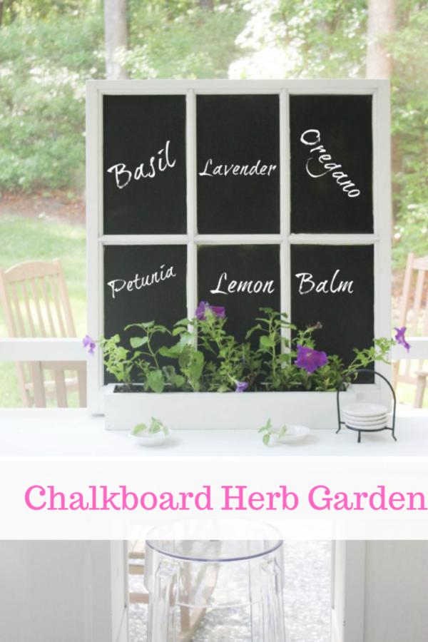 how to transform a window into a chalk board ideas
