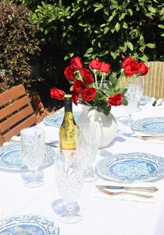 baltic blue dishes Get Ready For Spring With A Timeless Blue and White Tablescape