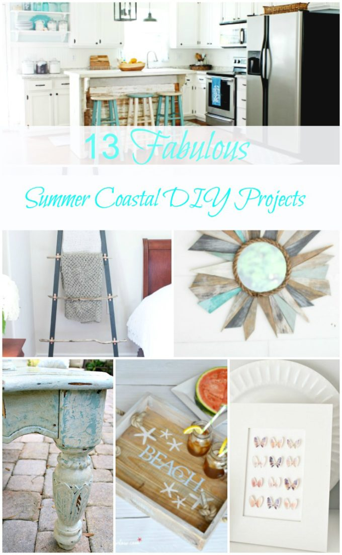 Decorate Your Home With 13 Coastal DIY Projects