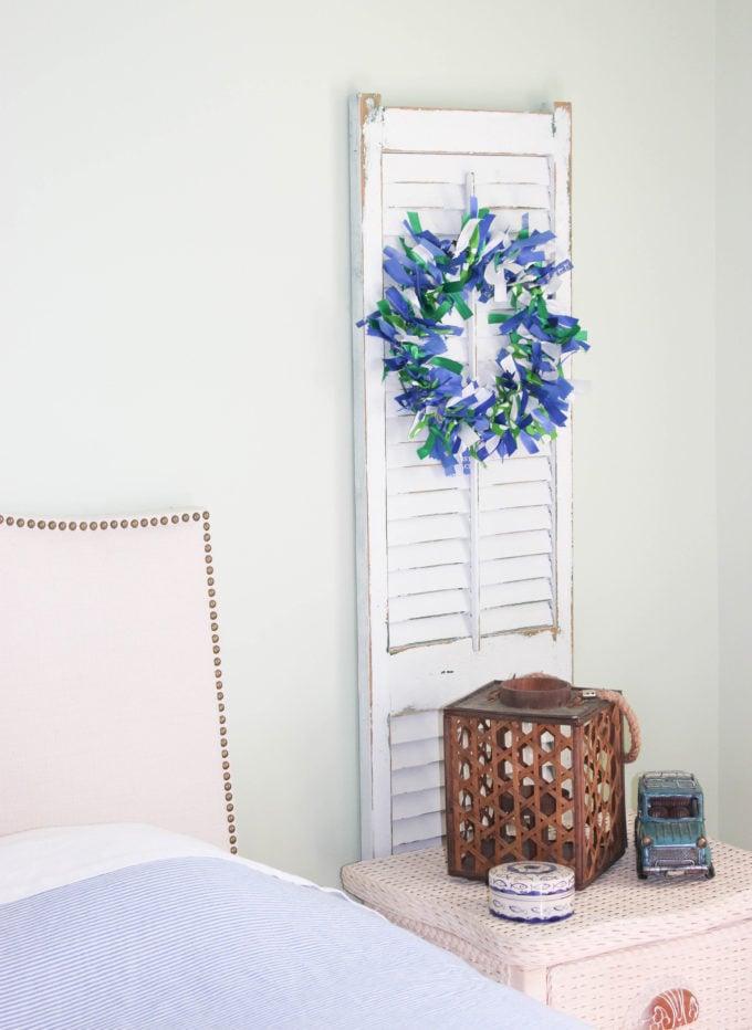 DIY Swim Ribbon Wreath