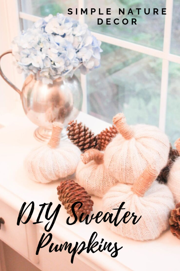 How To Make Easy No-Sew Pumpkin Sweaters