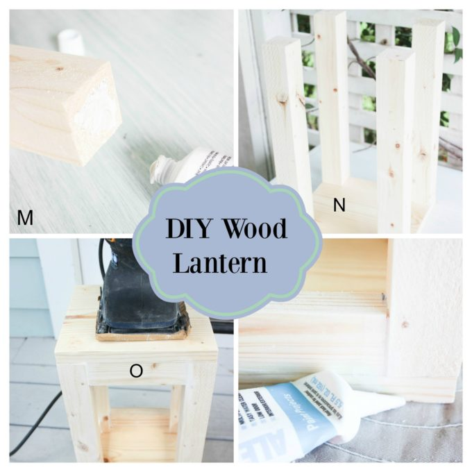 Steps on How To Make A Simple Wood Lantern From Wood Scraps