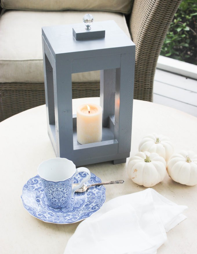 How To Make A Simple Wood Lantern From Wood Scraps