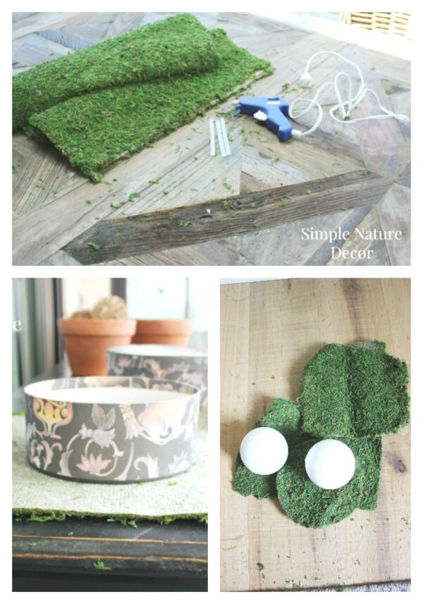 10 Ways To Decorate With Green Moss: DIY Moss Covered Decor Ideas For Spring