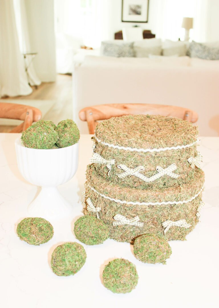 How To Make Moss Covered Eggs For Easter