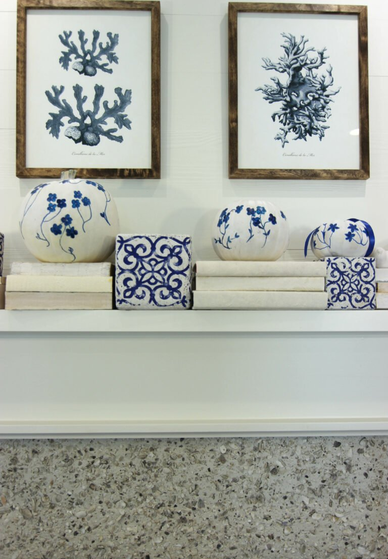How To Paint Chinoiserie Pumpkins Perfect For Fall