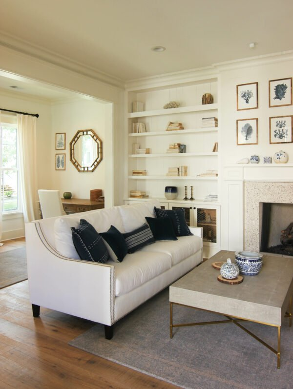 Refresh Your Living Room For The Fall Using Non-Traditional Colors