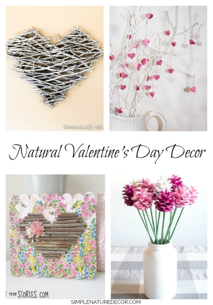 20 Gorgeous Valentine's Day Nature Inspired Crafts