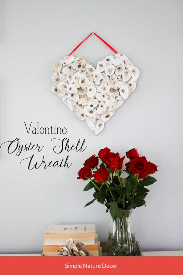Valentine's Day Wreath with flowers