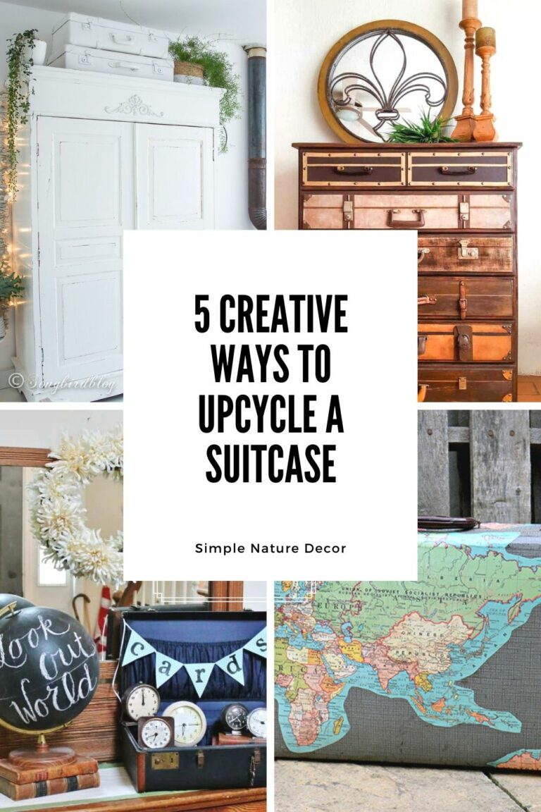 5 Creative Ways To Upcycle A Vintage Suitcase