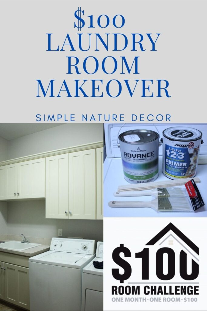 Diy Laundry Room Makeover On A $100 Budget