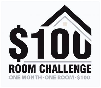 $100 room challenge: Diy Laundry Room Makeover On A $100 Budget