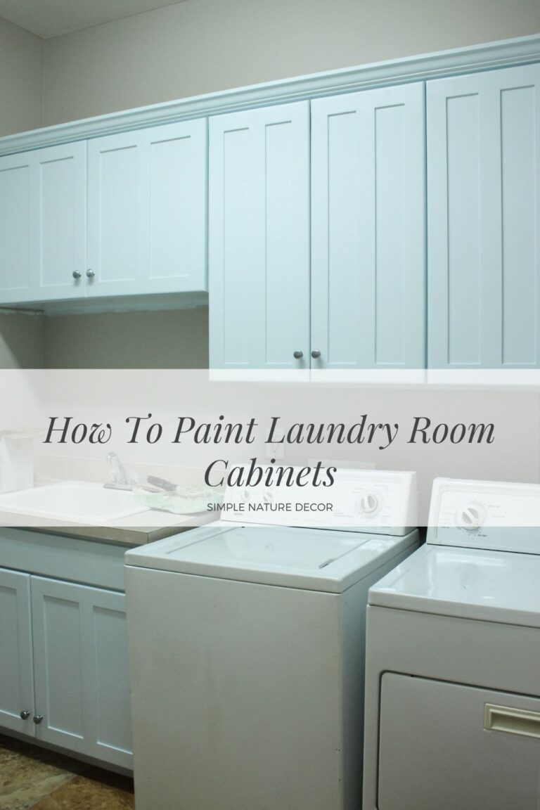 5 Tips On Painting Laundry Room Cabinets:Week 2