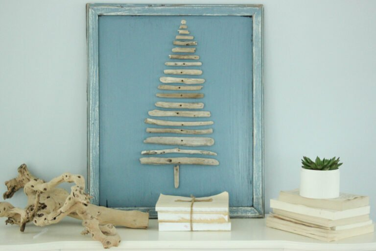 How To Make A Driftwood Christmas Tree Craft