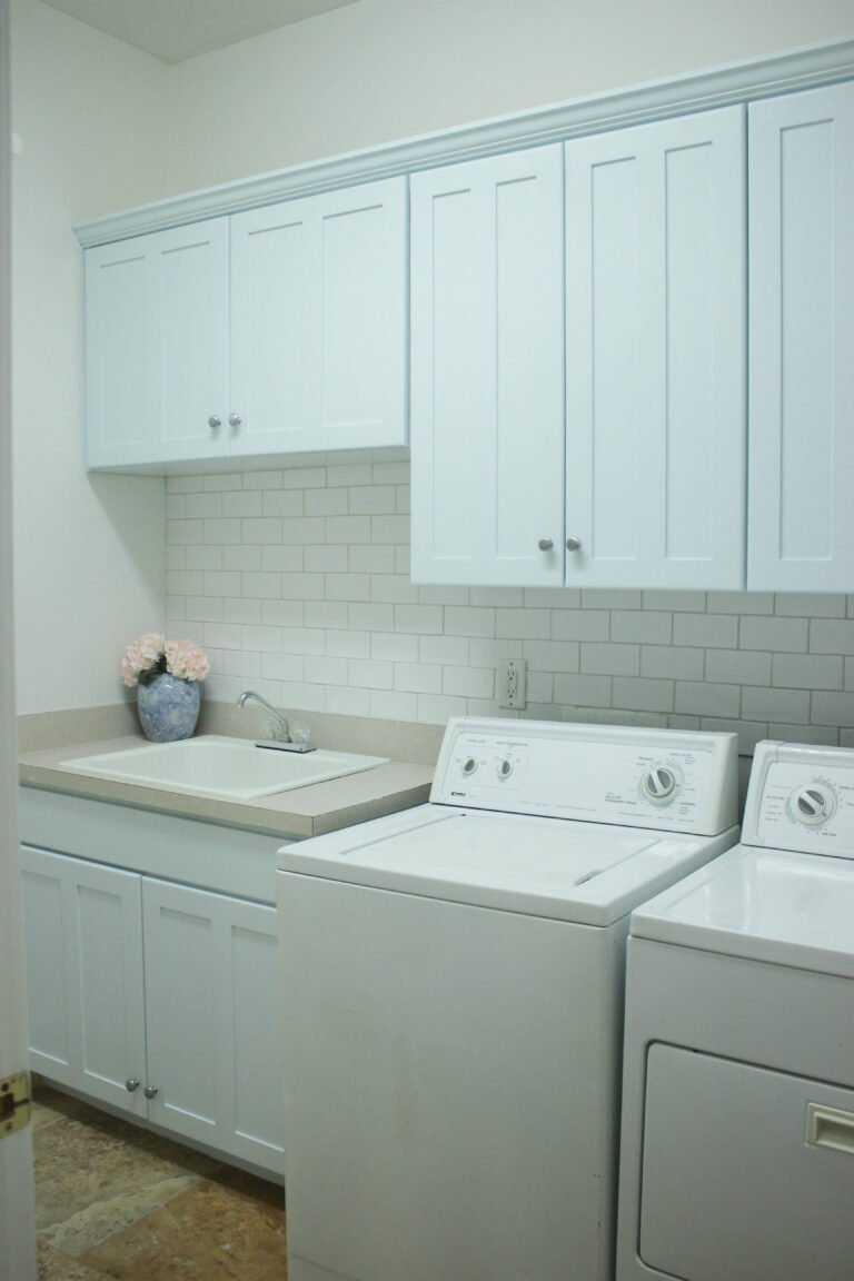 Budget-Friendly Laundry Room Makeover Reveal