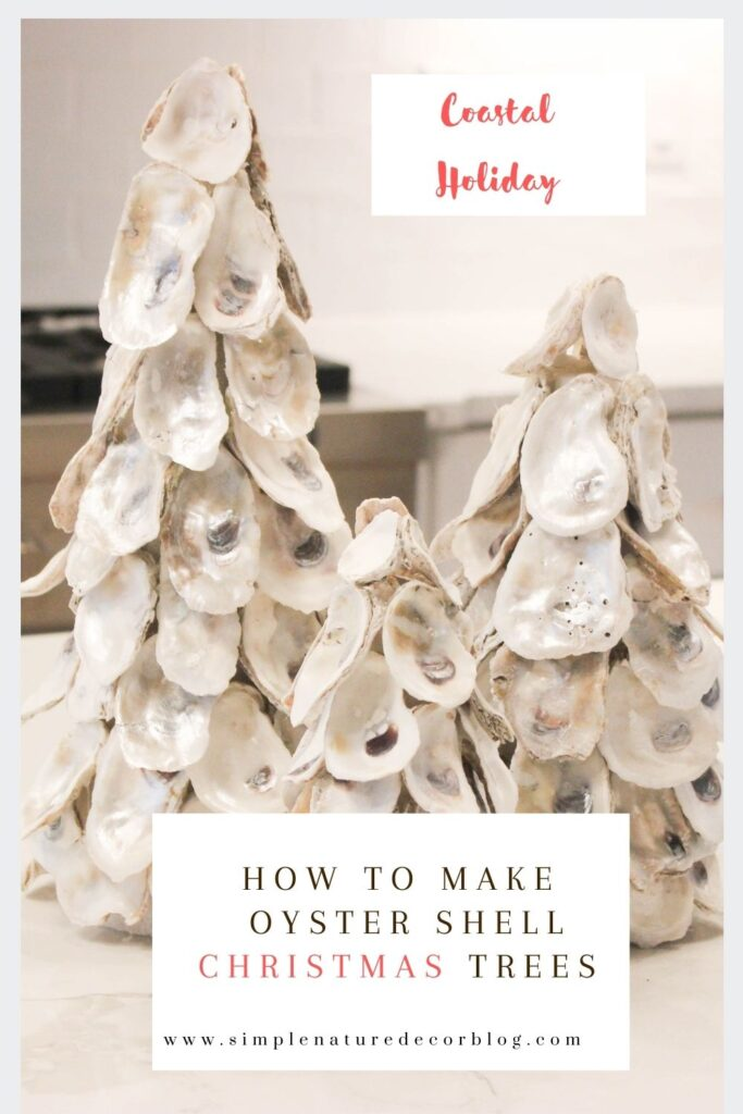 How To Make Oyster Shell Christmas Tree