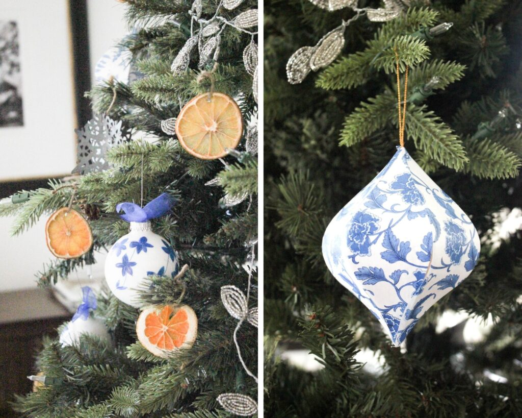 Chinoiserie ornaments:How To Make A Dried Orange Christmas Tree Decorations