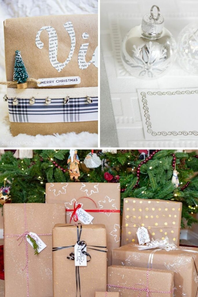 Recycled gift wrapping ideas:17 Holiday Recycled Gift Wrapping Ideas