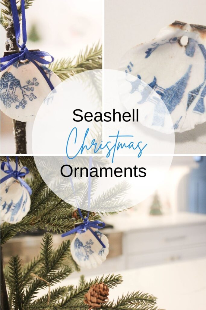 How To Decoupage Seashell Christmas Ornaments