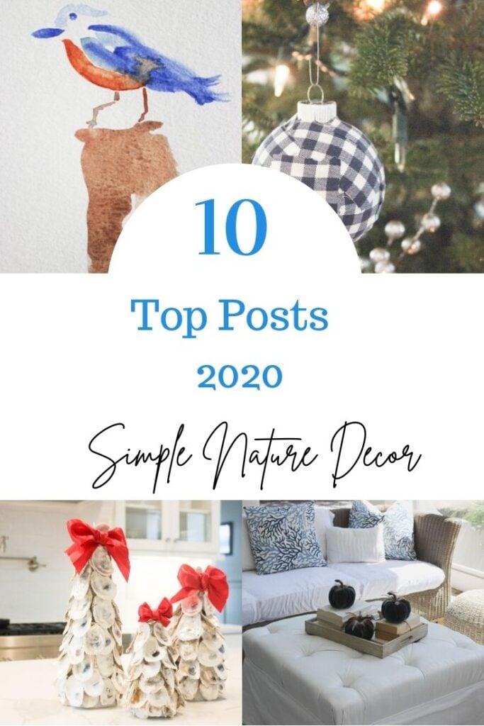 Top 10 2020 Posts: Simple Nature Decor