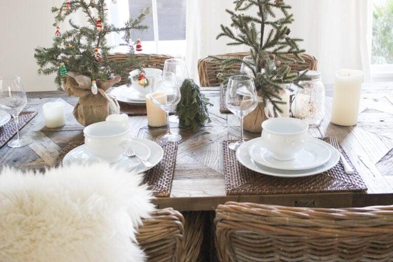 How To Make A Tabletop Christmas Tree