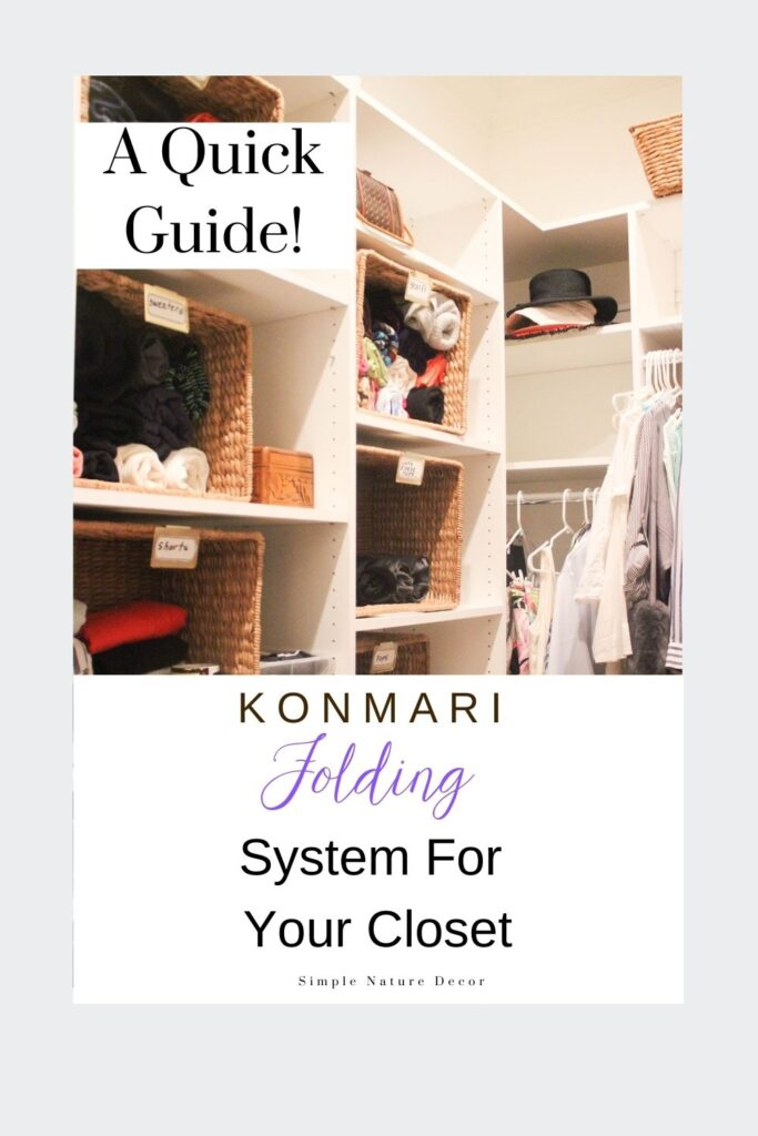 How To Tidy Your Bedroom Closet With The KonMari Folding Method
