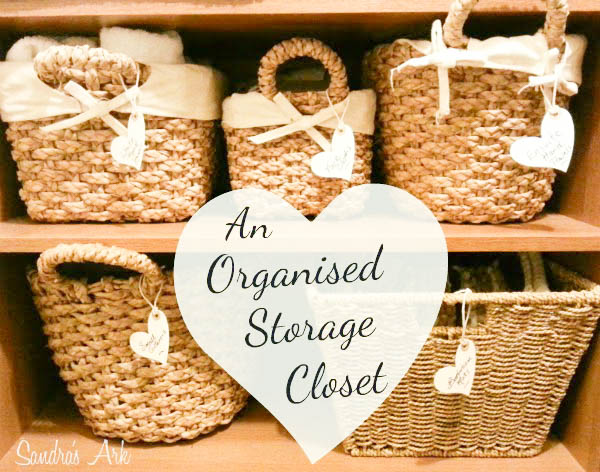 Baskets with tags for storage ideas:15 DIY Basket Storage Ideas That You Will Love