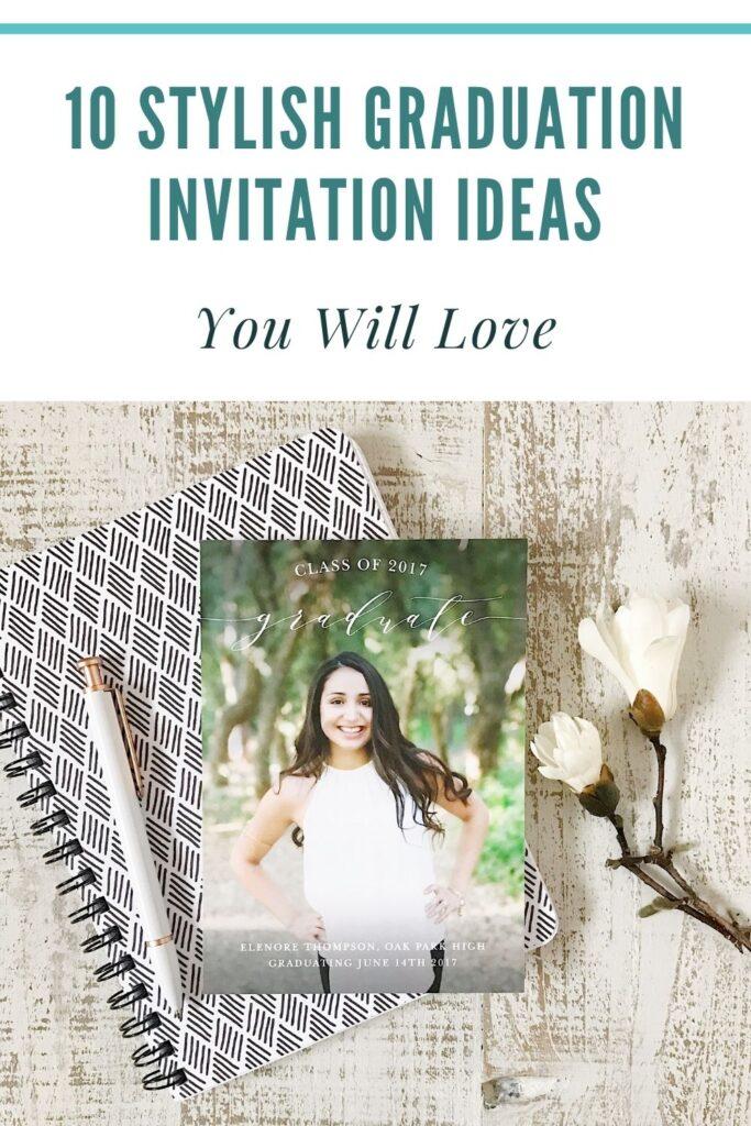 10 Stylish Graduation Invitation Ideas You Will Love