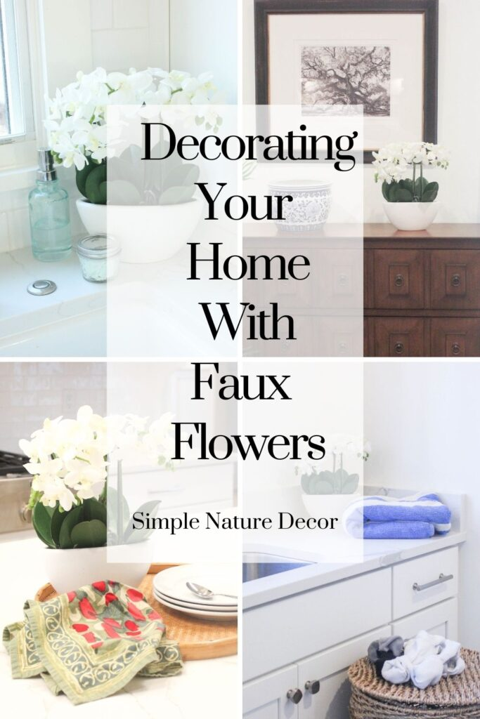Simple Ways To Decorate With Faux Flower Centerpieces