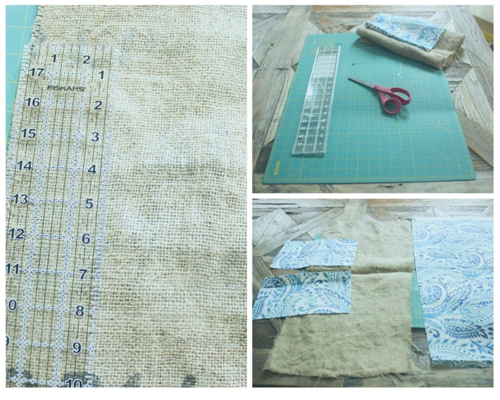 cutting and measuring:How To Make An Envelope Clutch Bag