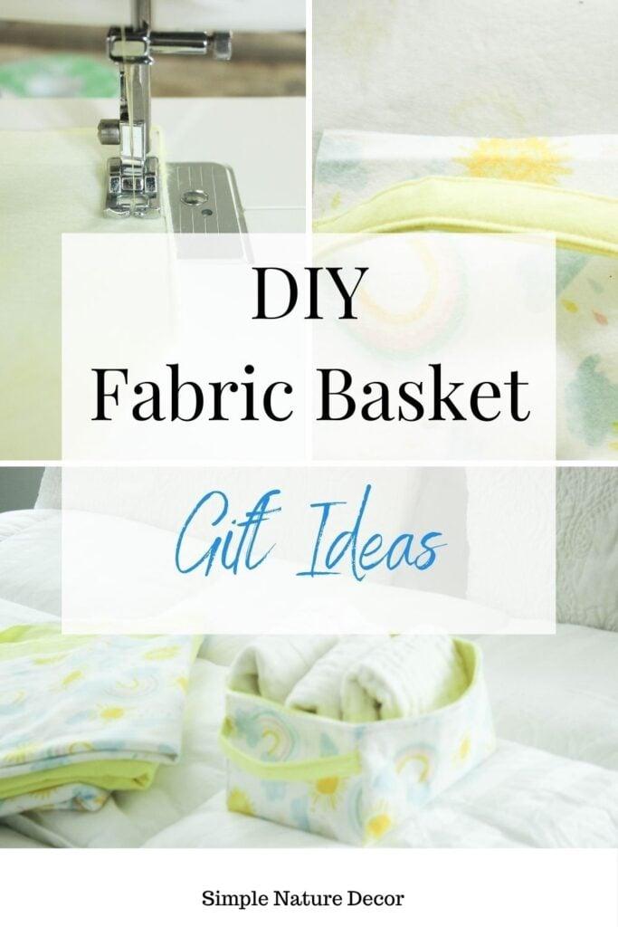 fabric gift baskets