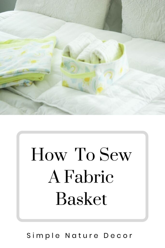 Fabric baskets: How To Make Fabric Baskets You Will Love