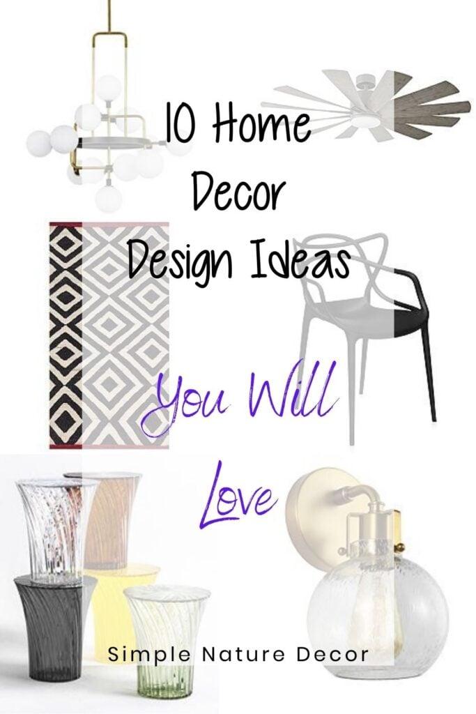 10 home decor design ideas