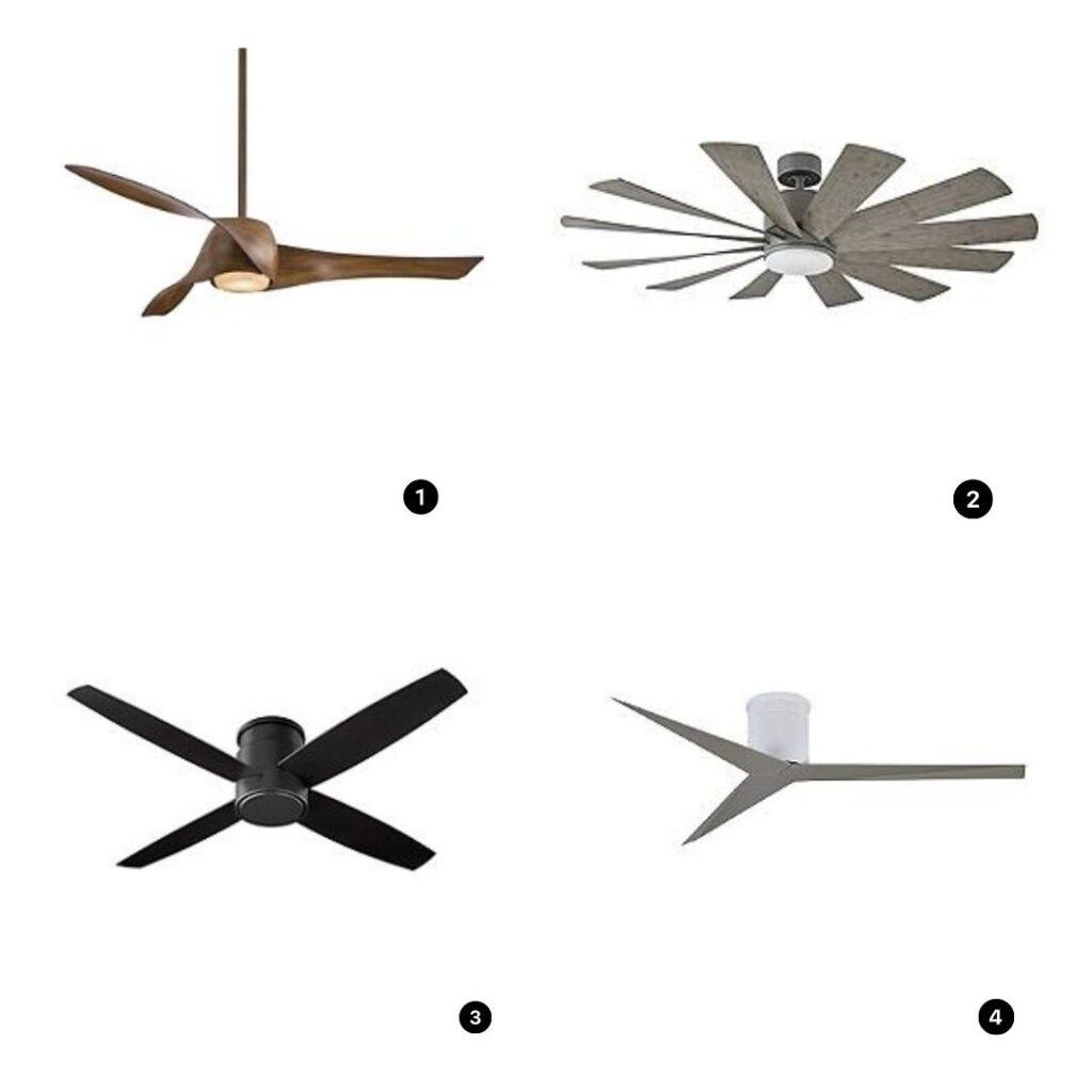 fan ideas; home decor design ideas