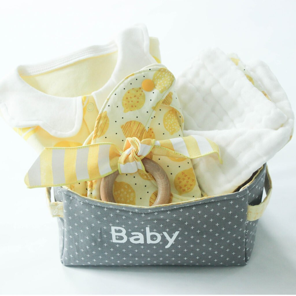Fabric baskets for baby gifts: How To Make Fabric Baskets You Will Love